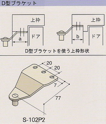 RYOBI、リョービ S-102P2室内用ドアクローザー