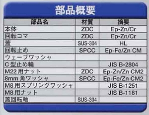 Geo Prince,ジョープリンス竹下 PH-22Sステンレス蓋付キーロット