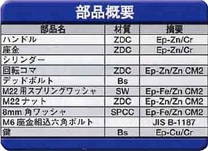 ステンレスハンドル PCH-60A-SUS-1(2)