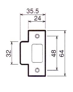 川口技研(GIKEN) ホームレバー内締り錠II型