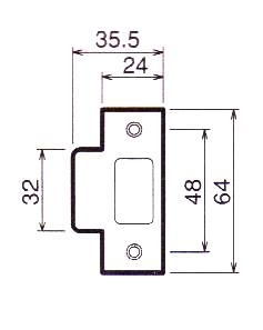 川口技研(GIKEN) ハイス表示錠II型