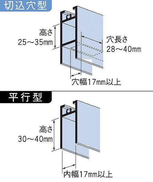 家研販売,KAKEN アルミサッシ取替戸車 T17(A)-25型